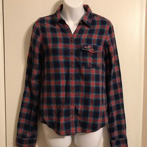 Hollister Flannel Size S